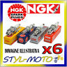 KIT 6 CANDELE NGK BP5ES AUSTIN HEALEY 3000 2.9 1960