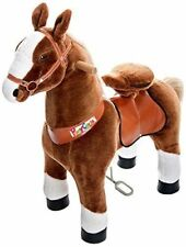 Official PonyCycle Small Brown With White Hoof Ride On Toy Horse