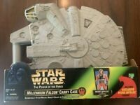 Star Wars Kenner Millennium Falcon Action Figure Carrying Case w/ Wedge Antilles