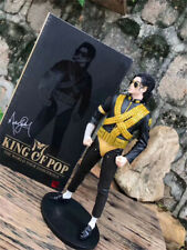 """Michael Jackson King of Pop 13"""" Doll Figure Memorial Statue Collection Rare"""