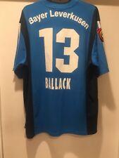 Michael Ballack Bayer Leverkusen 2001-2002 Away Jersey BUNDESLIGA