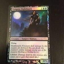 MTG MAGIC CARTE PROMO WPN DCI VAMPIRE NIGHTHAWK (ENGLISH FAUCON VAMPIRE) NM FOIL