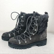 Sigerson Morrison Isla Genuine Shearling Boot NEW size 37/6.5