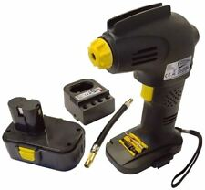 Streetwize Garage Workshop 12v Rechargeable Portable Cordless Tyre Inflator Pump