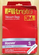 (2) HOOVER S VACUUM CLEANER BAGS, FUTURA POWERMAX SPECTRUM TURBOPOWER WINDTUNNEL