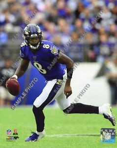 Lamar Jackson 2019 Baltimore Ravens NFL 8x10 Authentic Photo #2