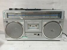 Vintage JVC Boombox Ghetto Blaster RC-555LB Radio Cassette Recorder