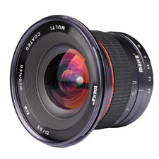 Meike 12mm f/2.8 Ultra Wide Angle Fixed Lens for Sony NEX 7 6 A5000 A5100 A6300