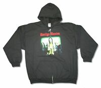 Marilyn Manson Group Photo Black Zip Up Hooded Sweatshirt Hoody New Official
