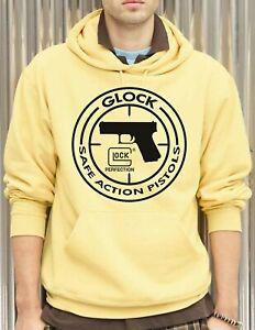 Glock Perfection Handgun - 50/50 Pullover Hoodies - Island Yellow - Assorted
