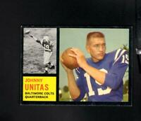 1962 Topps # 1 Johnny Unitas Ex-Mt