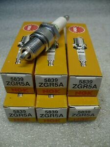 6x NGK ZGR5A  Standard Spark Plugs