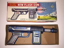 "NEW FLASH GUN SPACE   SH HORIKAWA JAPAN '50   TIN TOY 9.4""   Robby the Robot"