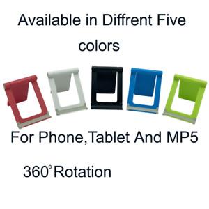 Universal Adjustable Folding Mobile Phone iPad Holder Stand Desk Tablet Portable