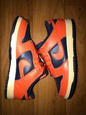 Rare ! Nike Dunk Low College Orange 2004 Syracuse sz 7 Us / 40 Eur