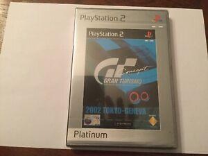 Playstation 2 ps2 games GRAN TURISMO Concept 2002 Tokyo - Geneva Car Racing