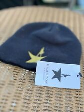 HAMILTON THE MUSICAL OFFICIAL BEANIE TAN KNIT HAT RARE LIMITED EDITION BROADWAY
