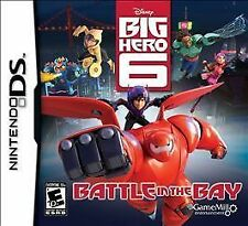 Brand New Sealed Disney Big Hero 6 Battle in the Bay Nintendo DS Video Game 2014