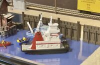 RTR - 32' Pushboat N Scale 1:160 Custom Designed Handcrafted Tug