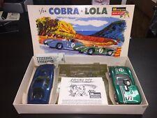 Vintage Monogram 1/24 Cobra / Lola Slot car