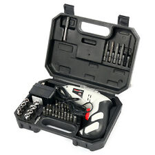 Cordless Drill Driver Rechargeable Electric Screw Drill Repair Tools Set CA SHIP