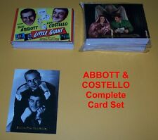 ABBOTT & COSTELLO      COMPLETE trading card set