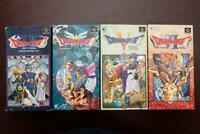 Super Famicom Dragon Quest 1+2 3 5 6 I+II III V VI boxed Japan SFC game US selle