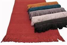"100% Cotton Hand Woven 2pc Bath Rug Set 21""x34""/17""x24"" JBR2"