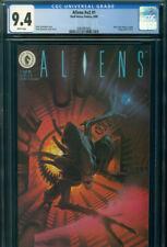 ALIENS V2 #1 CGC 9.4 NM NEAR MINT Denis Beauvais Art DARK HORSE Comics 8/1989 NR