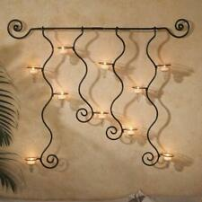 Wall Sconce Vintage Antique Tealight Holder with 10 Glass (Pack of 1) Tealight C