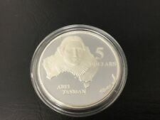 1993 $5 Abel Tasman Silver Proof Coin (from Masterpieces in Silver Set)
