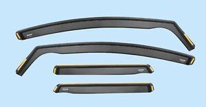 Wind Deflectors FOR AUDI Q7 MK1 4L 2006-2014 4-pc ISPEED Tinted Sun Visors