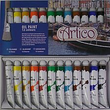 Artists Oil Paints Set For Painters Oils Pictures Tubes Boxed Quality Set