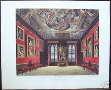 "W. H. Pyne: ""The Kings Old State Bed Chamber, Windsor"""