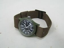 MWC Mil-W46374A Green Tone Army Wrist watch MWC No. 34880