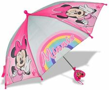 Disney Minnie Mouse Umbrella Rain Red School Kids Girls Toddler Youth Junior 2+