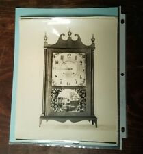 Antique Pillar & Scroll Clock Salesman Sample Photograph