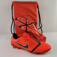 Nike Phantom Venom Elite FG ACC Mens 11 Soccer Cleats Crimson AO7540 600 NEW