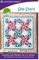 Sea Stars Quilt Pattern by Cozy Quilt Designs