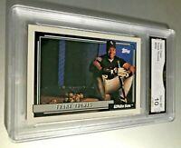 FRANK THOMAS (HOF) 1992 Topps #555 GMA Graded 10 Gem Mint