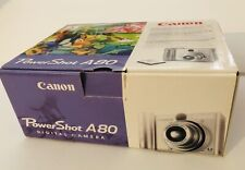 Canon Power Shot A80 Digital Camera