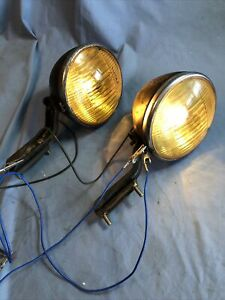 B.L.C. B-L-C 5 3/4 Guide Fog Driving Lights Rat Rod Model A T Ford Chevy Buick