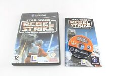 Nintendo GAMECUBE STAR WARS REBEL STRIKE ROGUE SQUADRON III PAL COMPLETO V3