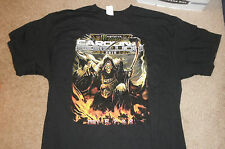 Carolina Rebellion 2016 Tour T-Shirt - Megadeth Disturbed Skynyrd Deftones SZ XL