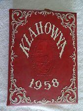 Klahowya Year Book 1958/Clover Park Hs, Tacoma Washington - w/Cap Peterson