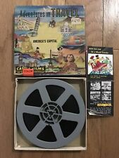VTG  Adventures in Travel Castle Films 8mm Movie AMERICA'S CAPITAL!