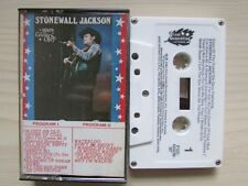 STONEWALL JACKSON STARS OF GRAND OLE OPRY CASSETTE, 1981 MADE IN CANADA,TESTED.