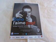 ETIENNE DAHO - Publicité de magazine / Advert !!! DAHO L'AIME POP !!!