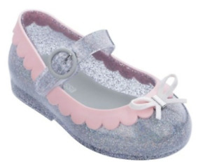 Mini Melissa Kids Jelly Shoes Little Girl Shoes Toddler Baby Girl Sandals US7-11