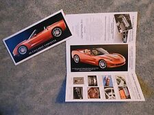 2008 Corvette Callaway Quick Reference Guide Folder NEW